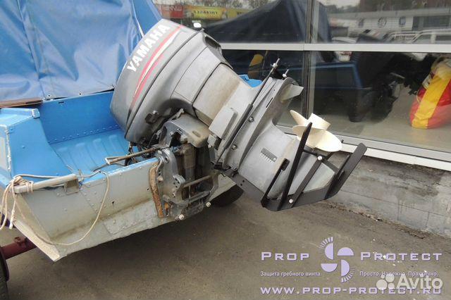 Защита винта и редуктора лодочного мотора своими руками