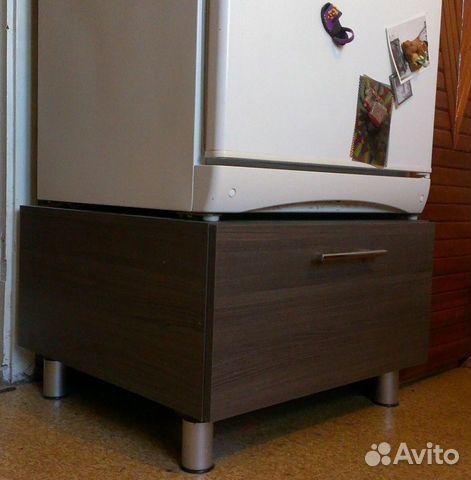 Тумба под холодильник с ящиком для овощей