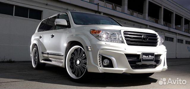 Toyota land cruiser 200 2012 обвес wald реплика