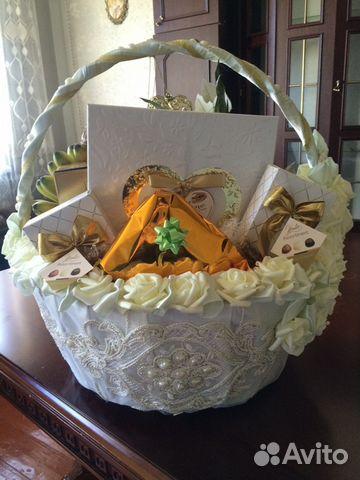 Как сделать свадебные корзины
