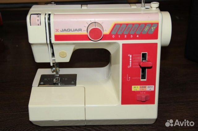 Машинка для шитья ягуар
