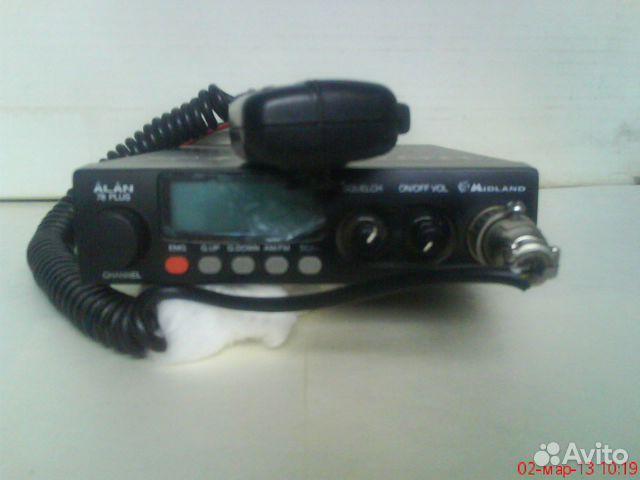 Радиостанция alan78plus.