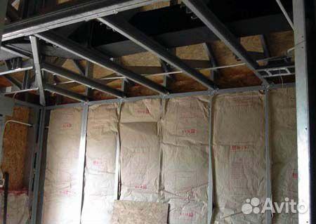 Построить дом своими руками из металлокаркаса