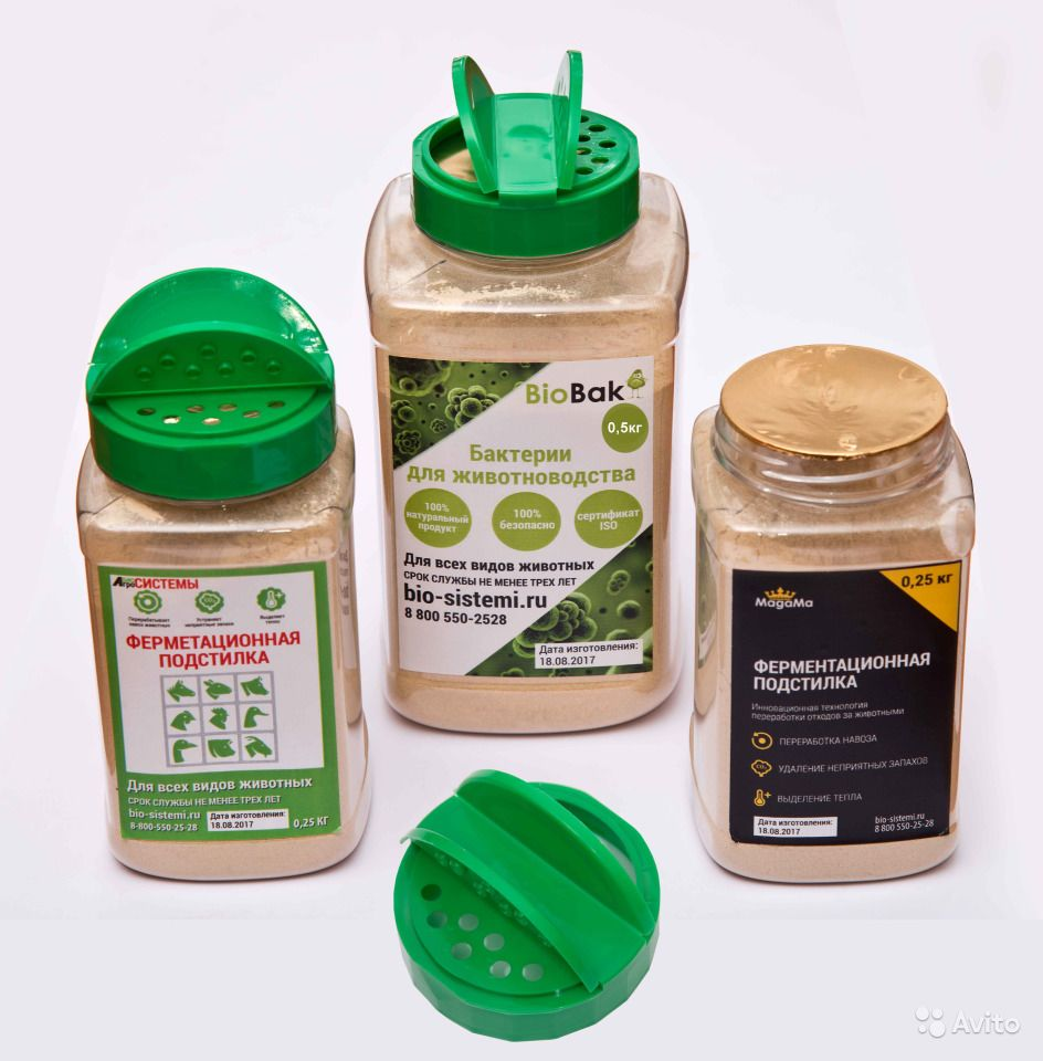 Ферментационная подстилка biobak