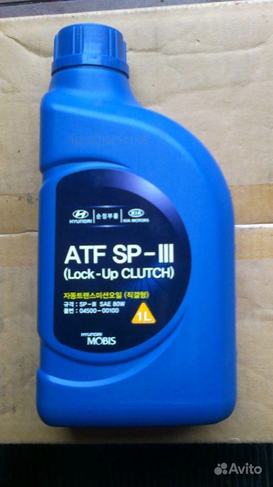 Hyundai Atf Sp-iii Масло Atf-sp Iii 1л