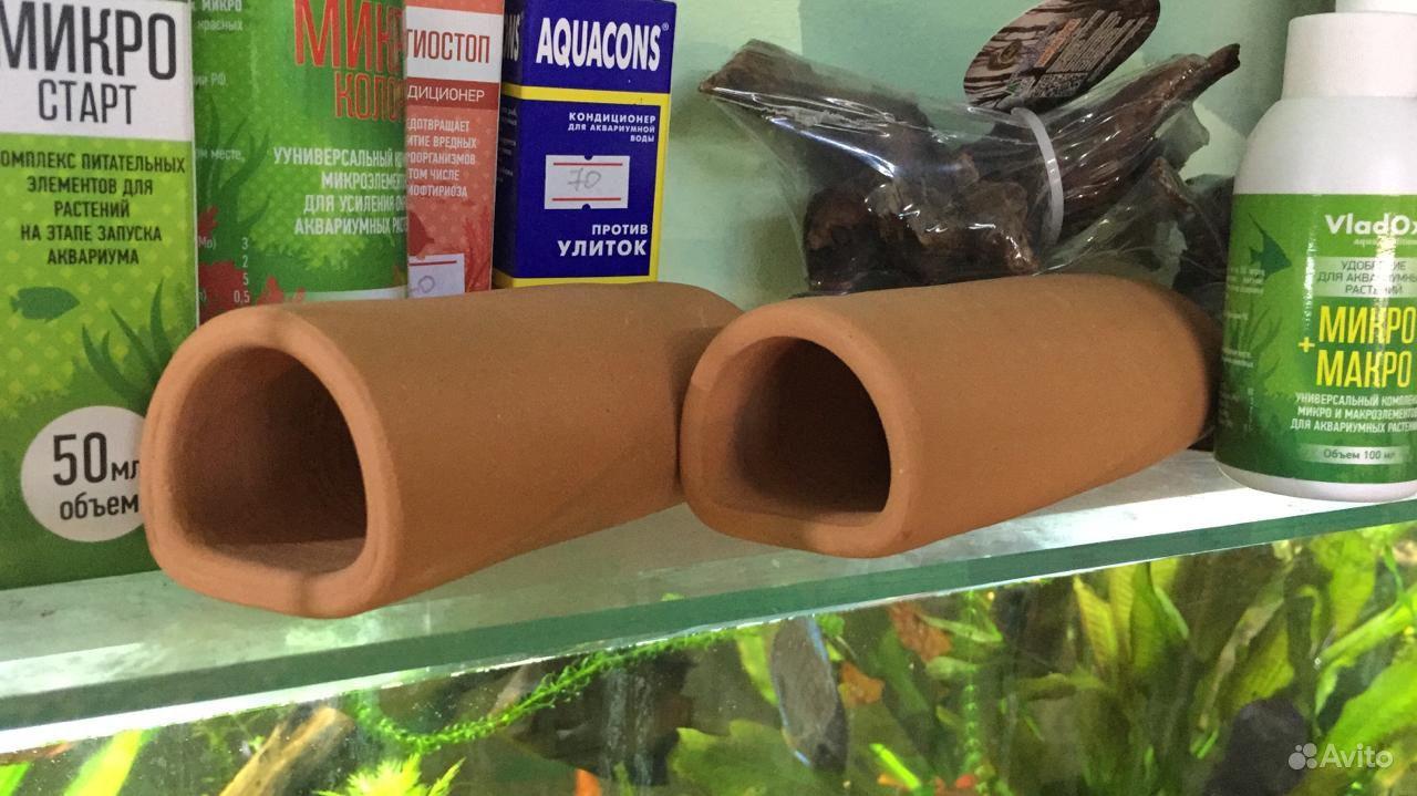 Глиняные трубки для сомиков купить на Зозу.ру - фотография № 1