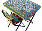 Стол и стул детские раскладные новые с Азбукой