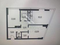 2-к. квартира, 66 м², 14/41 эт.