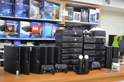 Приставки PS4/PRO/PS3/PS2/PSP/Vita/xbox/Wii/Switch