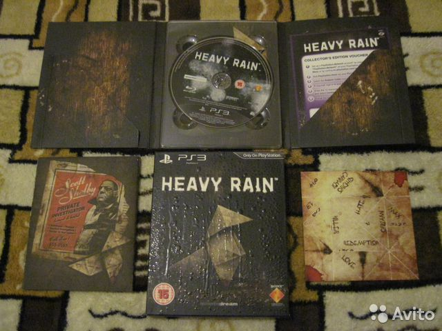 Heavy Rain Special Edition - для Playstation 3— фотография №1