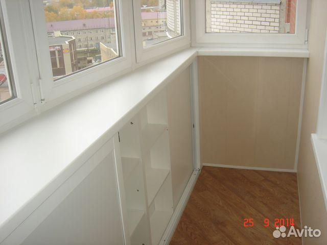 Услуги - обшивка, утепление балконов и лоджий в кировской об.