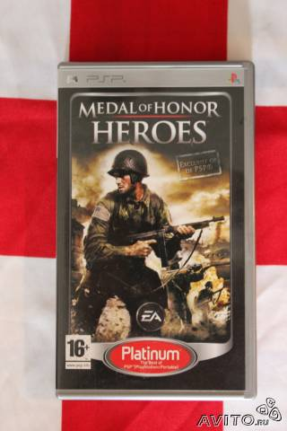 Medal of Honor Heroes Platinum для Sony PSP