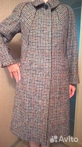 a28fbf601e1 Пальто осеннее женское размер 48 купить в Москве на Avito ...