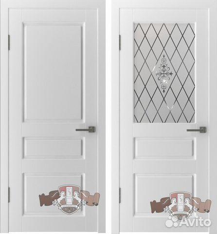 Блок дверной внутренний щитовой оргалитовый мелкопустотного заполнения
