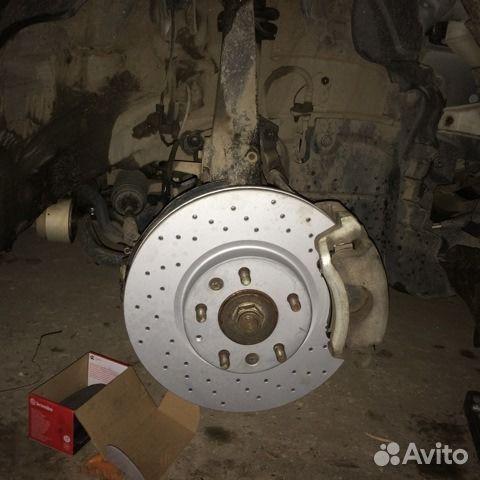 перфорированные тормозные диски zimmerman на mazda 6