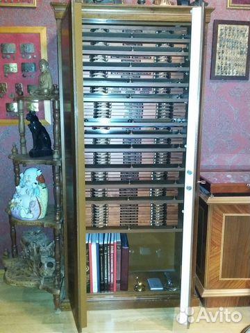 Сейф шкаф для хранения коллекций монет,знаков купить в москв.