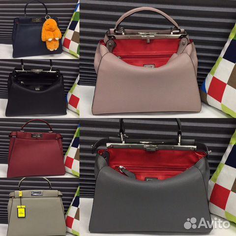 Мужские сумки Fendi Фенди - купить в интернет