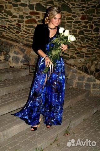 b6bf6db5a3b Продаю шикарное вечернее платье с разрезом купить в Республике ...