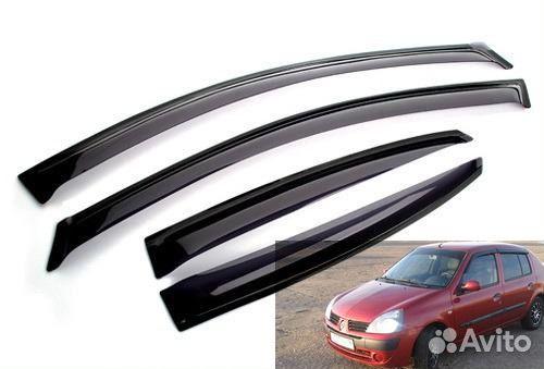 дефлекторы на окна renault symbol 1