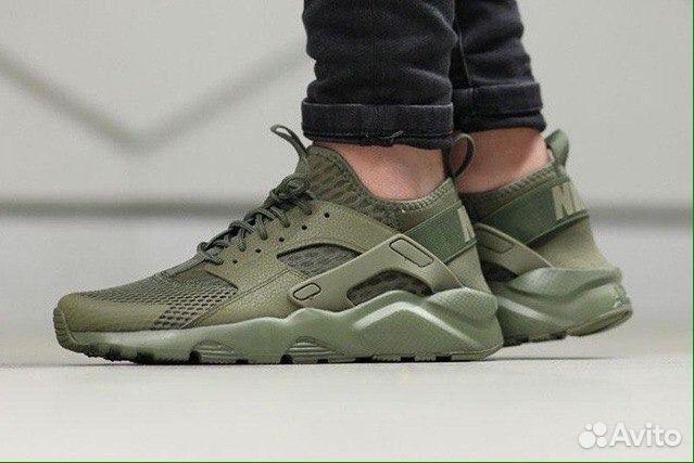 040dd098 Новинка Nike Huarache кроссовки хаки   Festima.Ru - Мониторинг ...