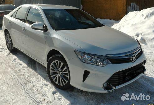 Toyota Camry 2018 - povozcar.ru