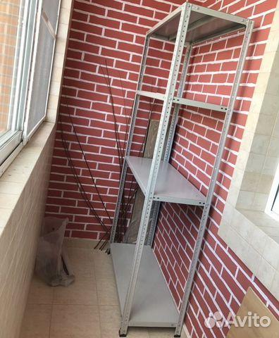 Стеллаж балконный 2000х500х300 (80) купить в москве на avito.