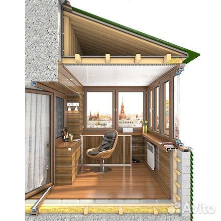Отличный балкон- это лучшие балконы и лоджии под ключ в кали.
