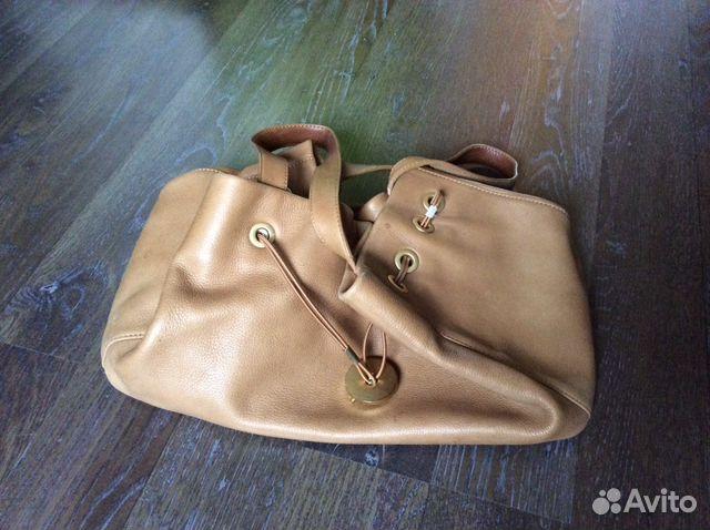 1817999eb68 Бежевая сумка uterque оригинал