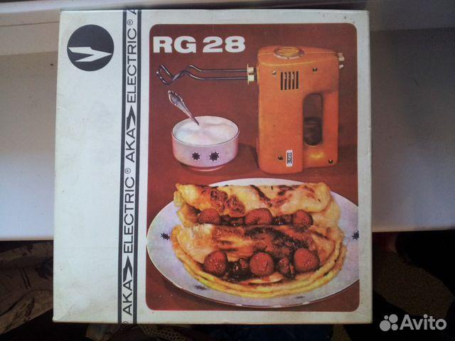 миксер rg 28s инструкция