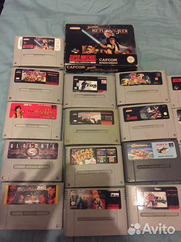 Игры Super Nintendo