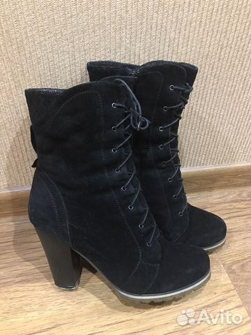 Ботинки зима Италия