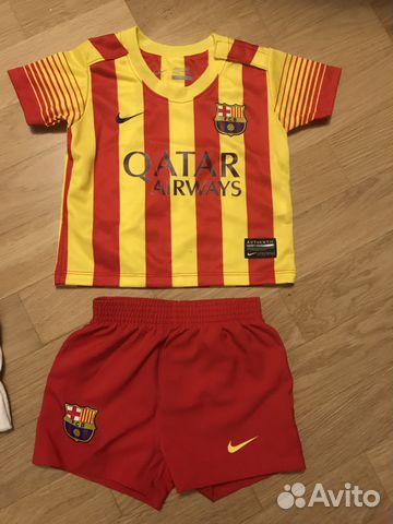 4e4f904c176a Футбольная форма на малыша Nike купить в Москве на Avito ...