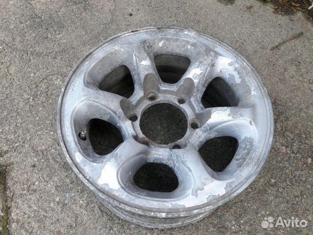 mitsubishi pajero 2 бу колесные диски