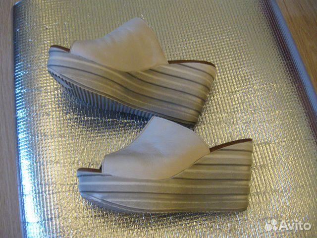 Новые кожаные Сабо Thomas Munz 89502260796 купить 4