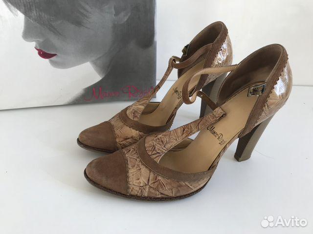 b8df24c82fda Marco Rizzi туфли оригинал Италия, золотые р.40 купить в Москве на ...