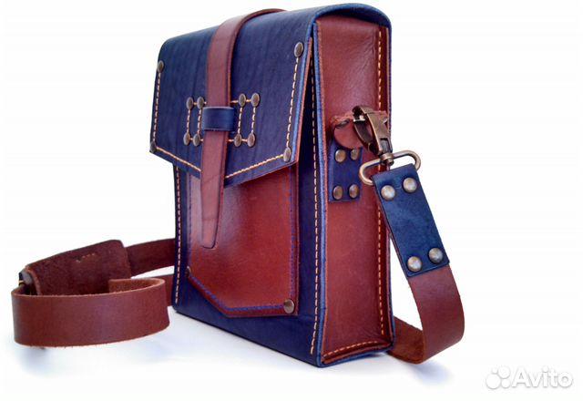 bb0d356157df Продам сумку ручной работы из натуральной кожи купить в Республике ...