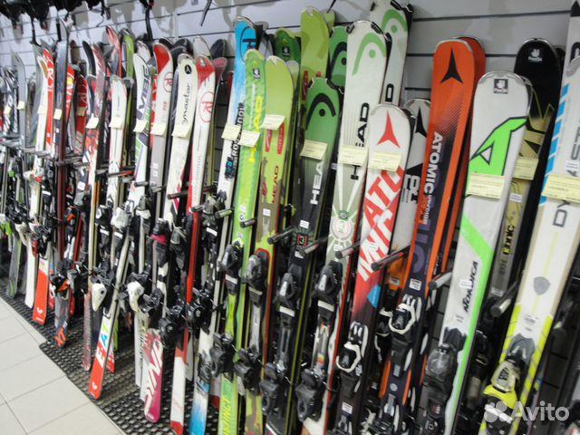 Горные лыжи Б У Volkl Attiva с креплениями купить в Краснодарском ... e4400471fbb