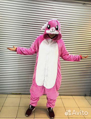 Кигуруми-пижама кролик M  be3ca71283266