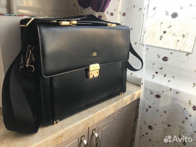 d78ff4d245e1 Портфель мужской DuPont кожаный (Франция) купить в Москве на Avito ...