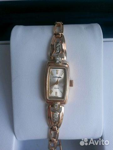Золотые часы с бриллиантами Мактайм купить в Москве на Avito ... 14bd1afe39e