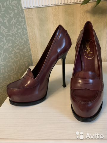 84a342c6474d Туфли Yves Saint Laurent купить в Москве на Avito — Объявления на ...