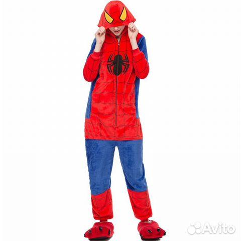 0688036210ae Кигуруми пижама Человек Паук | Festima.Ru - Мониторинг объявлений