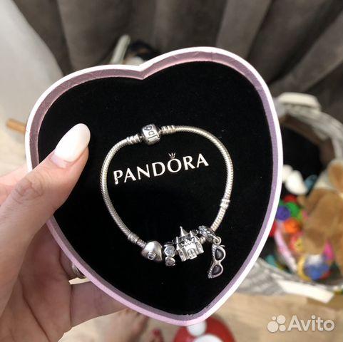 браслет Pandora оригинал в коробке сердце купить в новосибирской