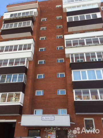 Продается однокомнатная квартира за 1 900 000 рублей. Иркутск, улица Баумана, 233/6.