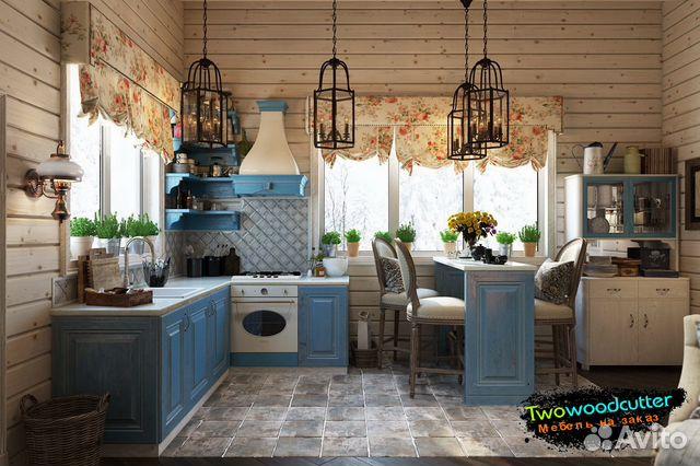 кухни на заказ в стиле прованс купить в ростовской области на Avito