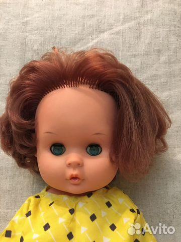 Куклы гдр, Топтыжка, 30см,прядка