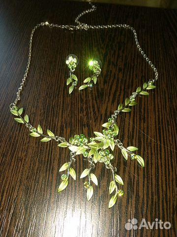 Ожерелье и серьги из нержавеющего сплава 89107827353 купить 2