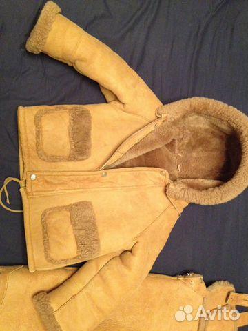 Дубленка детская (куртка и полукомбез) 89272759900 купить 2