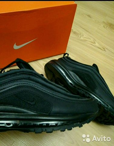 65c29d6c Новые Кроссовки Nike Air Max 97 Black купить в Москве на Avito ...