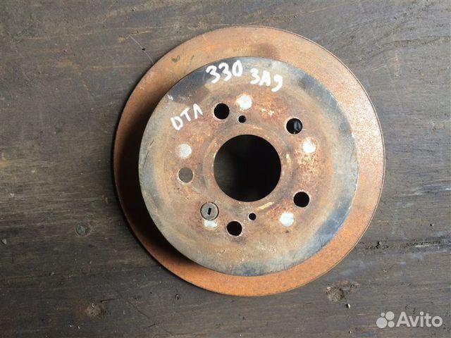 89026196331 Тормозной диск задний Lexus Rx330 2 поколение